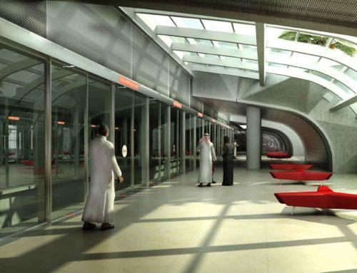 KAIA Jeddah Airport APM Station