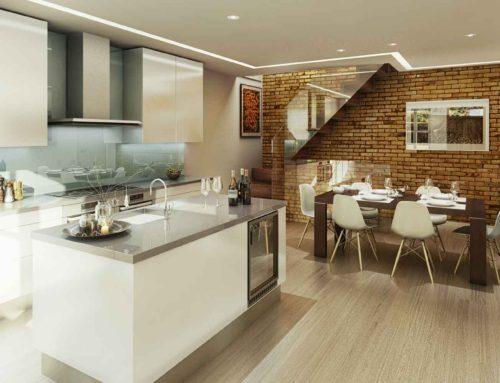 Kitchen, Leinster Mews, London W2